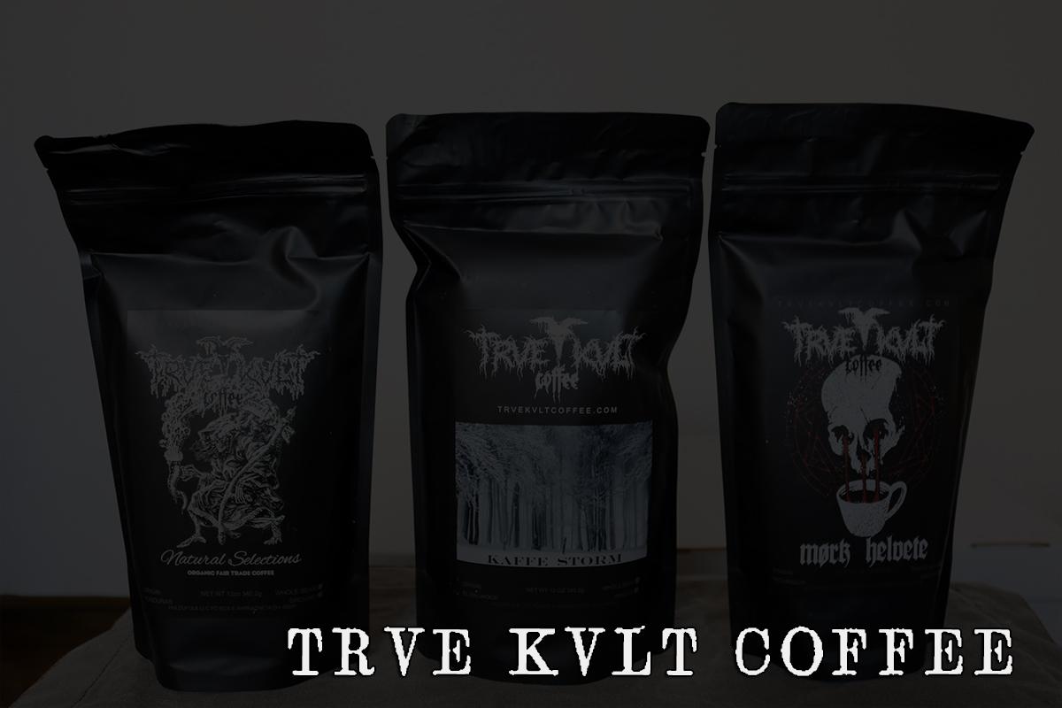 コーヒーにもサタニックを!TRVE KVLT COFFEE